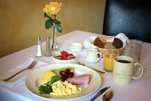 breakfast - amador wine country hotel, saloon & restaurant