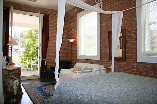 historic guest room - amador wine country hotel, saloon & restaurant